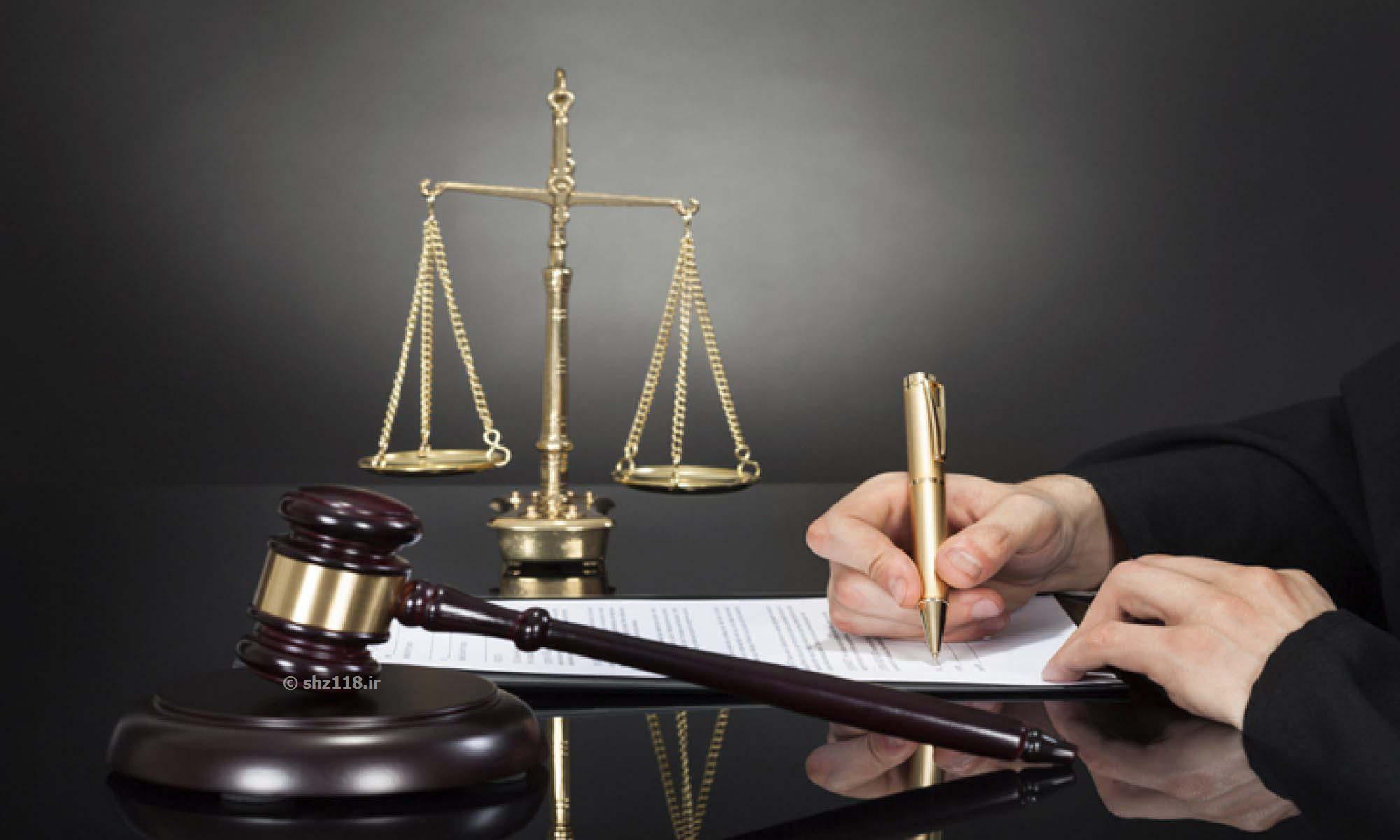 قانون در لایحه دفاعیه درخصوص تخلفات اداری