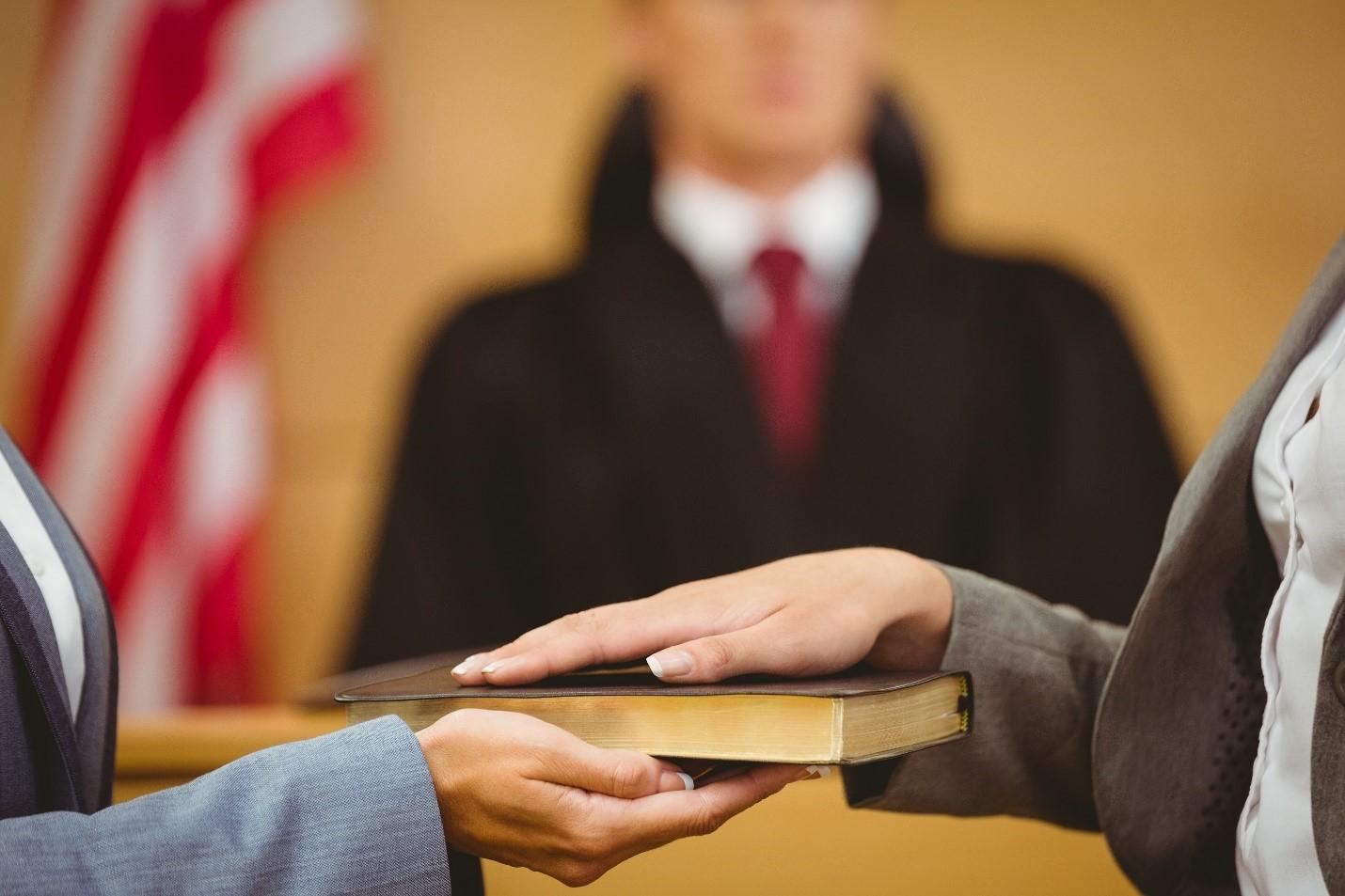 علت شهادت کذب شاهدین در دادگاه