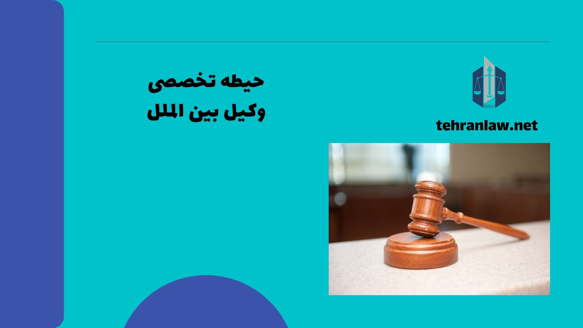 حیطه تخصصی وکیل بین الملل